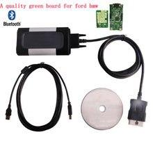 Tablero Verde nuevo calidad A 2014 R2 Keygen Para CDP Pro Plus con bluetooth OBD2 Escáner automotriz Herramienta de Diagnóstico del coche