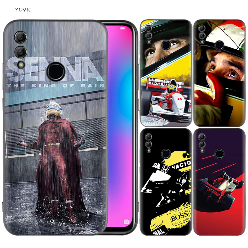 silicone-cover-case-for-huawei-honor-10-9-lite-8x-8c-8a-y6-y7-y9-7a-pro-prime-7c-2018-2019-v20-ayrton-font-b-senna-b-font