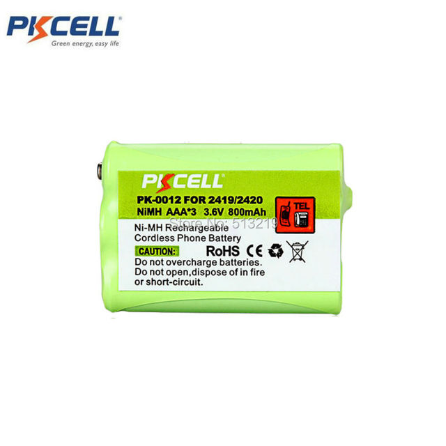 AAA * 3 KSC-2419/2420 Заменить для AT & T 2419 GP GP70AAAH3BX GP75AAAH3BX RADIO SHACK 23-442 23-905 VTECH 80-5542-00-00 80-5543-00-00