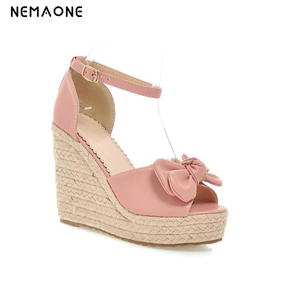 Women's sandals that hide bunions - Nemaone 2017 Summer Women Sandals Casual Peep Toe Swing Shoes Lady Platform Wedges Sandals Walk Shoes