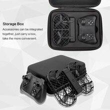 D7 noir Crea 720 P WIFI caméra télécommande pliable avec maintien d'altitude RC quadrirotor avec boîte de transport avec lumière LED