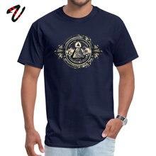 цена на Tops Shirt Cheap O Neck Custom Short Sleeve Laura Koi Man T-shirt All seeing eye pyramid dollar freemason god Printed Tee Shirt