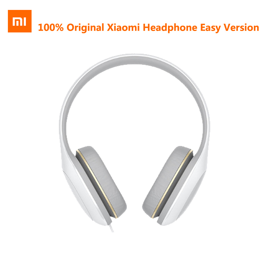 Original Xiao mi casque Version facile 3.5mm Sterero musique HiFi mi casque confort facilité écouteurs suppression du bruit casque
