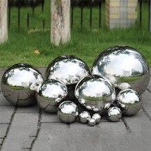 Нержавеющая сталь, зеркальный шар, полый шар, подходит для торговых центров, товары для украшения дома и сада, украшение, 120~ 300 мм