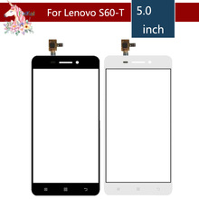 10pcs/lot 5.0 For Lenovo S 60 S60 S60-T S60-w LCD Touch Screen Digitizer Sensor Outer Glass Lens Panel Replacement