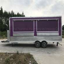 5.8 M Catering Food Trucks Concession Food Trailers Catering Street Food Carts Corner filleted Design