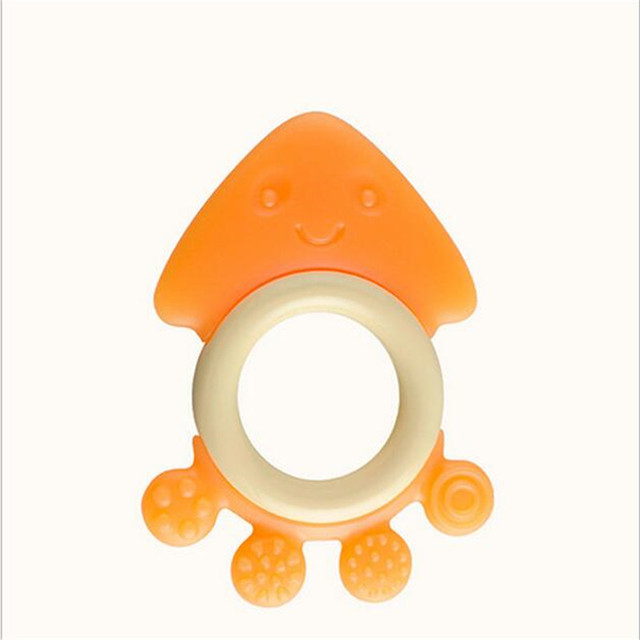 1PCS Hotsale Glister Baby Kid Infant Safety Teeth Stick Teethers Rear Molar Silicone ,Great food silicone Baby Teethers