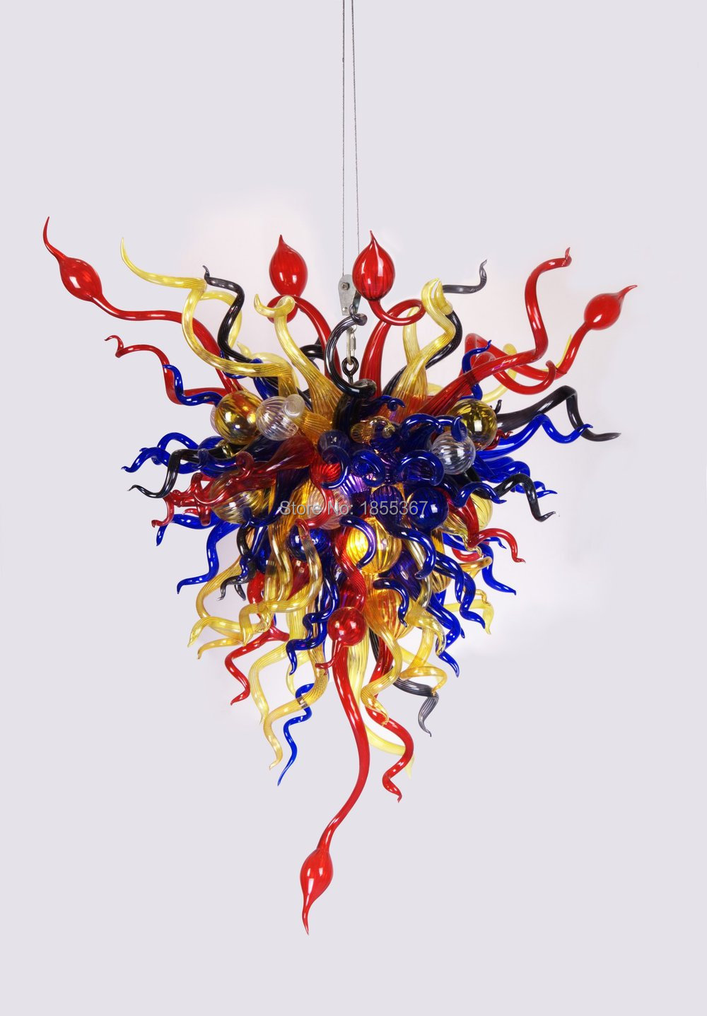 Free shipping pure handmade elegant lamp cheap crystal colored glass free shipping pure handmade elegant lamp cheap crystal colored glass chandelier in chandeliers from lights lighting on aliexpress alibaba group aloadofball Image collections