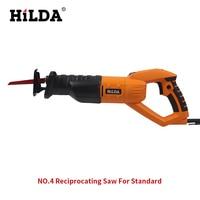 HILDA 950w Reciprocating Saw Woodworking Electric Saw 6 Speed Portable Electric Saws 220v/50hz Scroll Saw Jig Saw