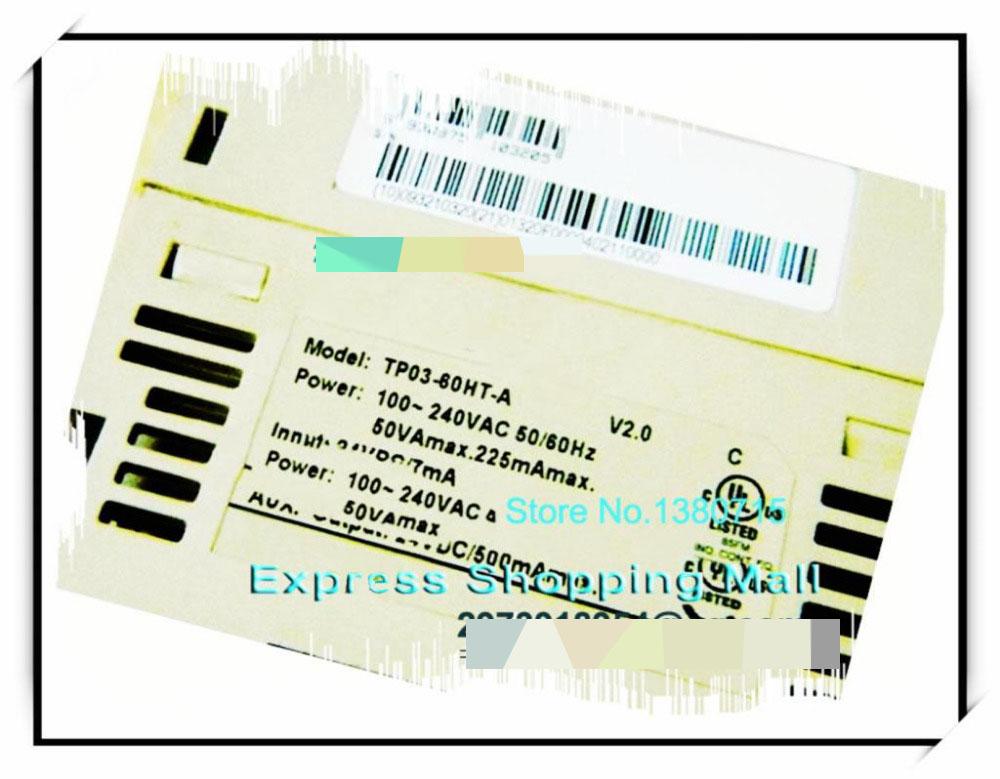 New Original TP03-60HT-A PLC 100-240VAC 24VDC 36 input transistor 24 output 1 COM dvp32ec00t3 new original delta plc ec3 series 100 240vac 16di 16do transistor output
