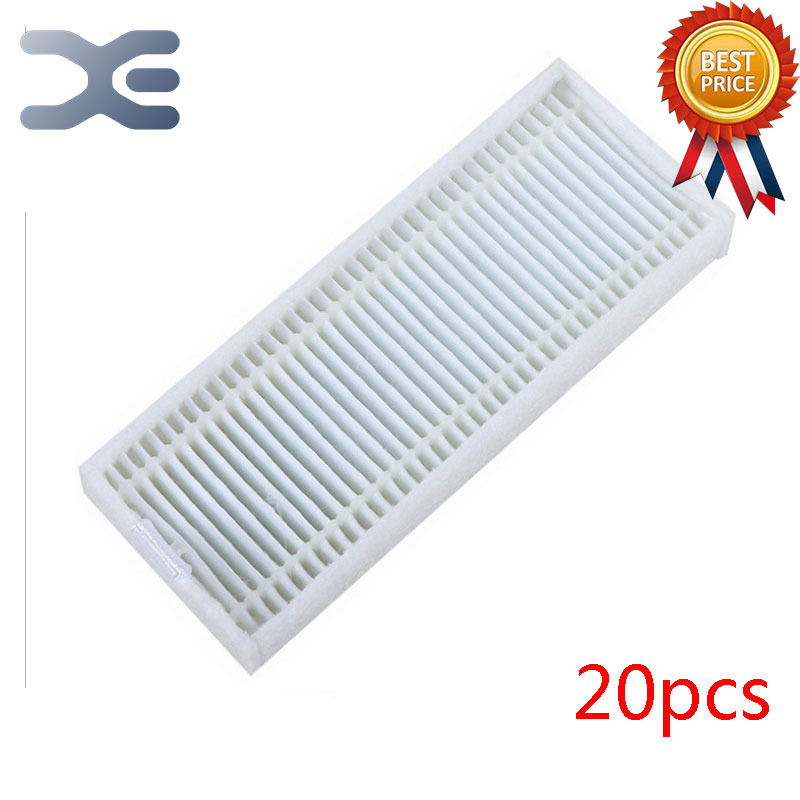 20 Pcs High Quality Ecovacs CEN360 Sweeping Machine Accessories Hepa Filter Vacuum Cleaner Parts