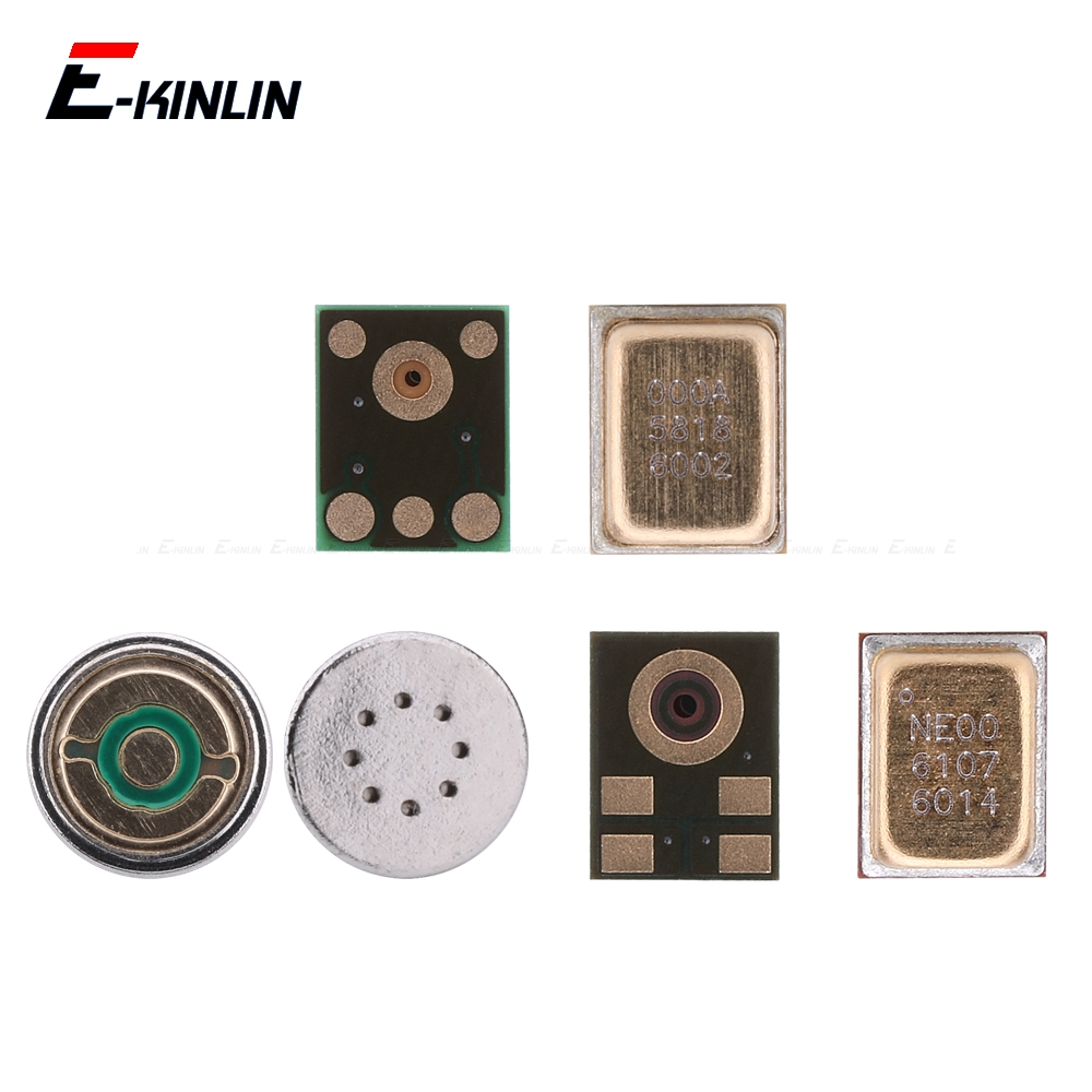 2pcs Main Board Microphone Mic Inner Receiver Repair Parts For HuaWei Y9 Y7 Y6 Pro 2019 Y5 Prime 2018 GR5 2017