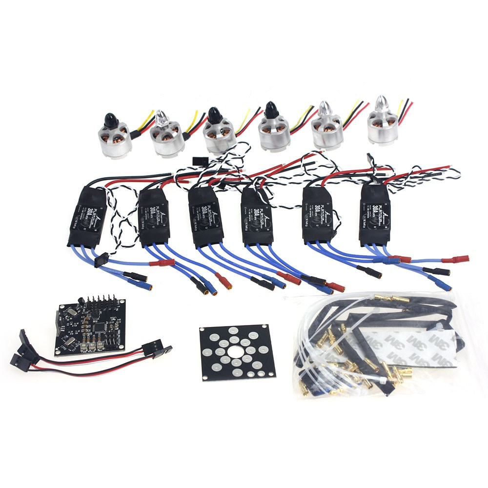 Electronic Accessories KKMulticopter V2.3 Circuit Board D2212 920KV Brushless Motor 30A ESC Propeller for UFO Heli F14711-E f02015 f 6 axis foldable rack rc quadcopter kit with kk v2 3 circuit board 1000kv brushless motor 10x4 7 propeller 30a esc