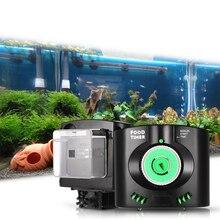 水族館の水槽実用自動魚飼料タイマー給餌インストール電子水族館食品配信供給ディスペンサー