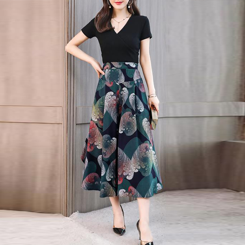 Hot new lady wide leg   pants   women Summer beach high waist trousers Chic streetwear casual   pants     capris   female 2019 high quality