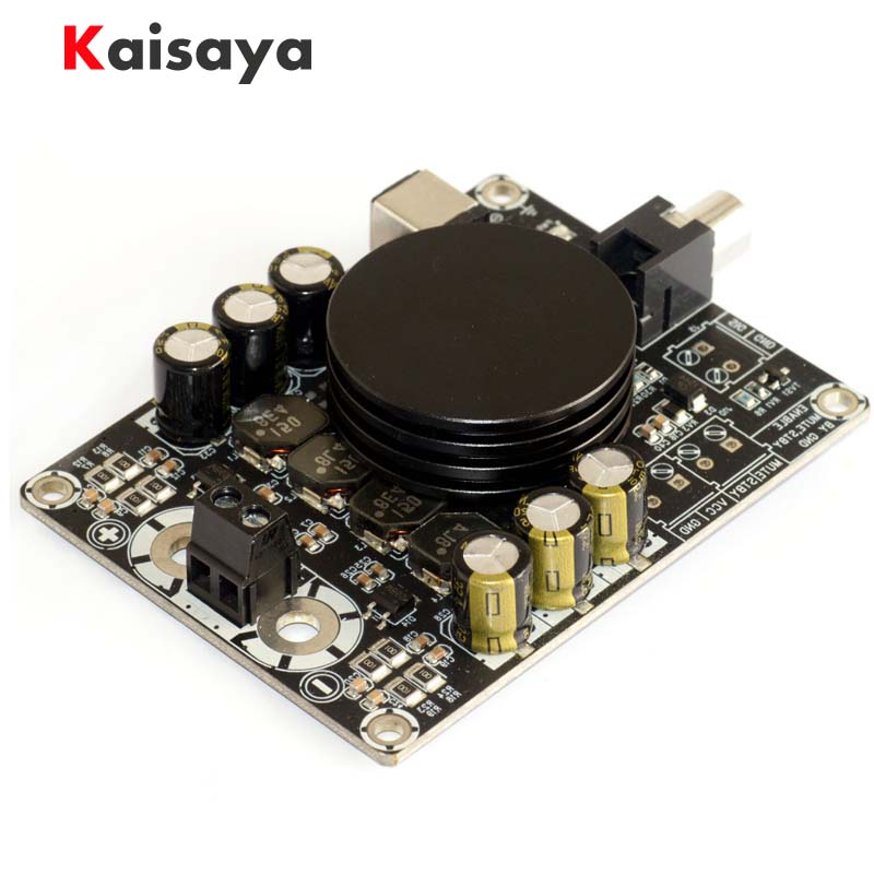 Class D digital audio amplifier board TPA3116 HIFI 100W Monaural amplifiers with subwoofer