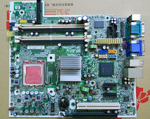 Для hp compaq dc5800 q33 оригинальный б настольных материнских плат socket lga 775 btx pn: 461536-001 450667-001