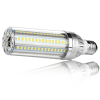 E27 220V LED light 5730 SMD LED bulb E27 corn fan light 25W 35W 50W LED corn light bulb 360 degree light