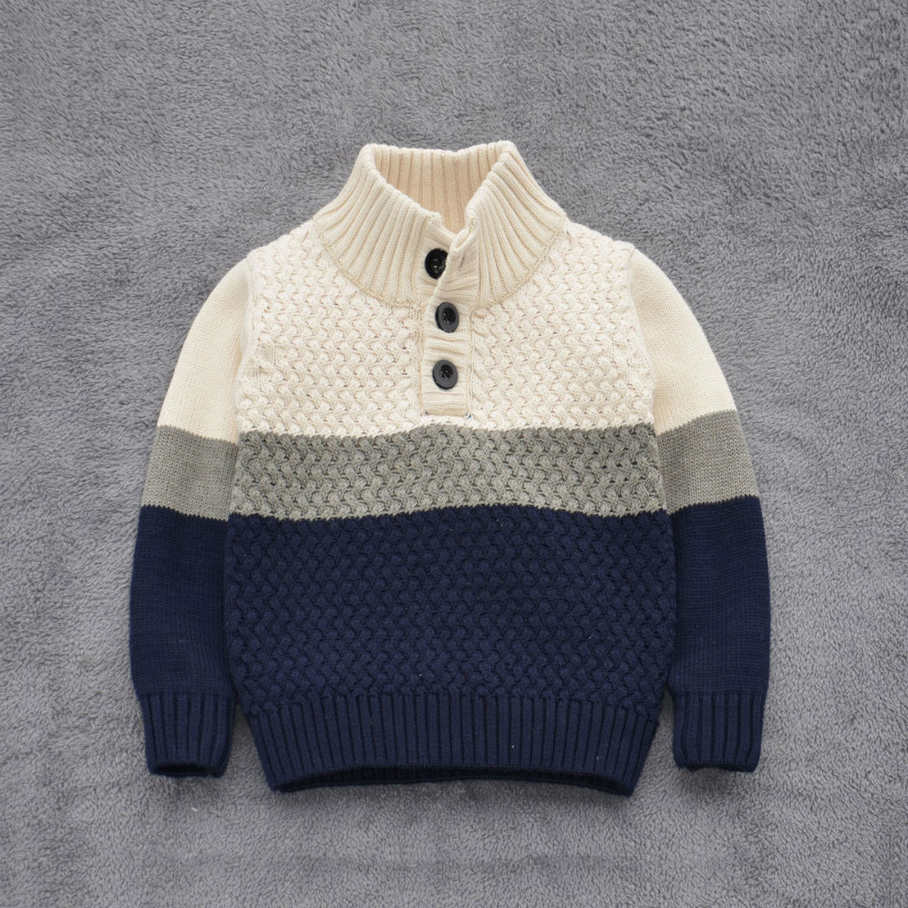 ФОТО Boy sweater!2015autumn/winter fashion Kid sweater cotton 100% baby boys sweater High quality pullovers Children sweater 2T-7T