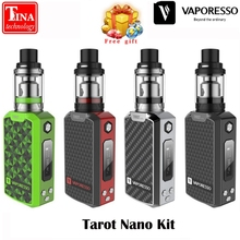 New Original Vaporesso Tarot Nano Kit 2ml Veco Tank and 80W Box Mod Vape 2500mah Battery Vaporizer Electronic Cigarette