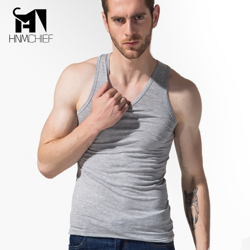 Man s Solid Underwear Brand font b Clothing b font font b Mens b font Sleeveless