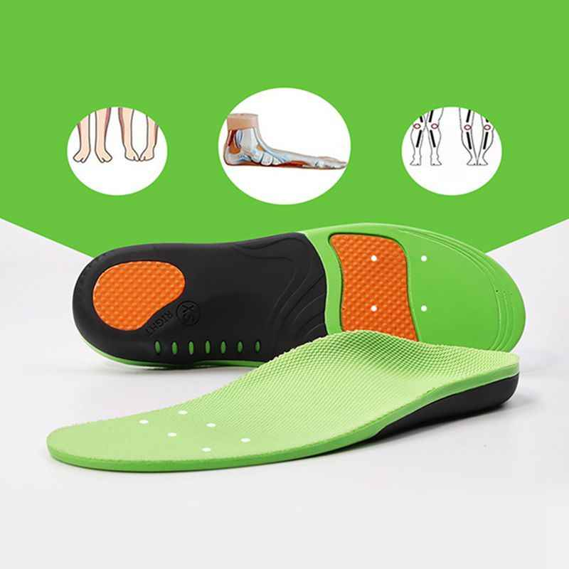 Soft Orthotic Plantar Fasciitis Insoles Foot Arch Shoe Inserts Cushion Orthopedic Foot Massage Foot Care Unisex Feet Soles