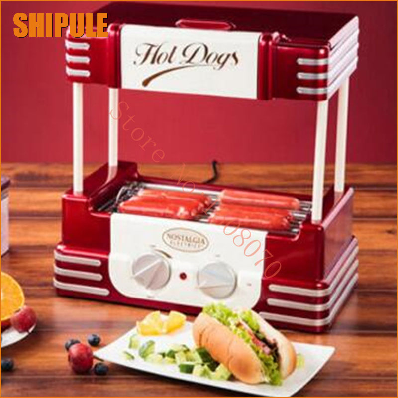 8 rollers grill hot dog roller hot dog machine wholesale sausage roast machine hot dog machine hot dog cold dog