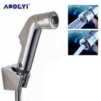 AODEYI Double Mode Toliet Bidet Hand Held Portable Bidet Sprayer Shattaf Toilet Shower Spray Set Ass Tail Anal Cleaning Shower