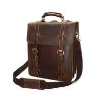 Natural Color 100% Genuine Leather Backpack Top Quality Backpacks Casual Travel Knapsack Laptop Bag Ladies Big Pocket Backpacks