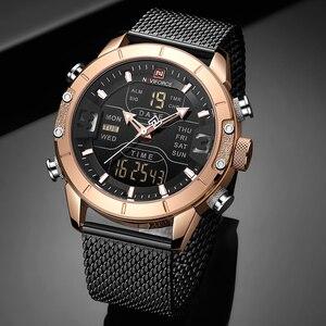 Image 3 - Men Watch Top Luxury Brand Fashion Casual Quartz Wrist Watches Mens Waterproof Military Army Sport LED Clock Relogio Masculino