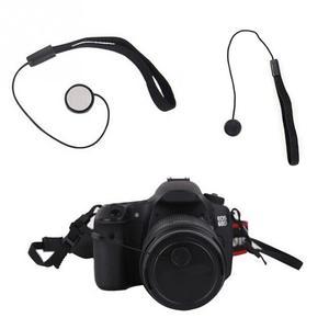 Image 2 - 5 Pcs 23cm אוניברסלי עבור DSLR עדשת כיסוי שווי מחזיק Keeper רצועת מחרוזת חבל רצועה עבור Canon מצלמה אבזרים