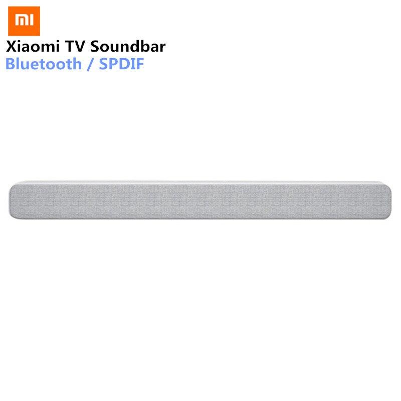 Xiaomi Drahtlose TV Soundbar Bluetooth Lautsprecher Stilvolle Stoff Sound bar Unterstützung Bluetooth Wiedergabe Optische SPDIF AUX IN Für Hause