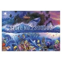 Beyond the Reef Diy Diamond Painting Sea Life Ocean Art Embroidery Full Kit Drill Needlework Rhinestone Mosaic Picture