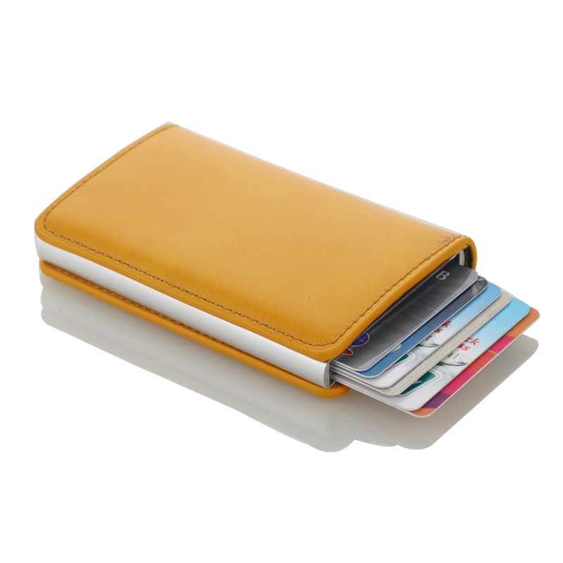 Stainless Steel Mens Credit Card Holder Fashion Brand Card
