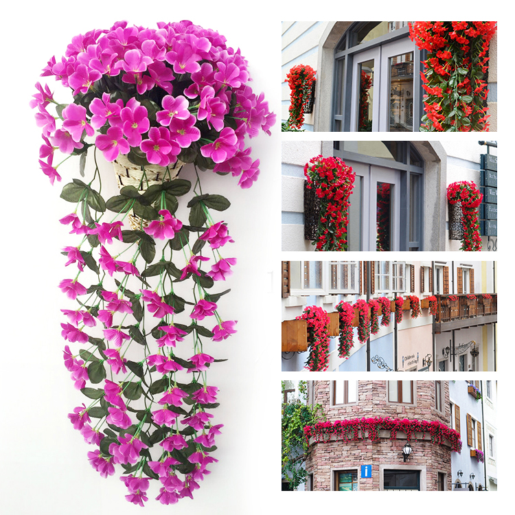 Artificial Flower Baskets Online : Get cheap flower hanging basket aliexpress