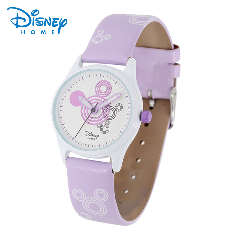 100% Original Disney Mickey Mouse Kids Luxury Wristwatch Girls Dress Fashion Casual Quartz Watch Top brand Disney 93601 Clock