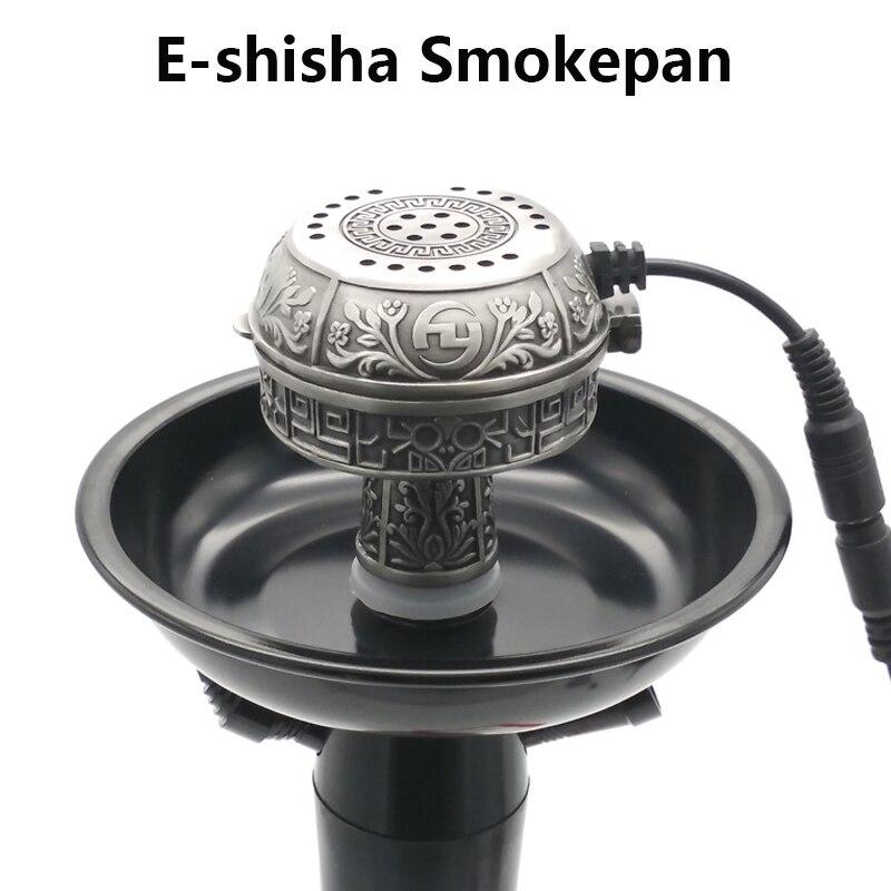 Bol à tabac électronique multifonctionnel en métal e-shisha et charbon de bois en céramique pour narguilé/Sheesha/Chicha/narguilé