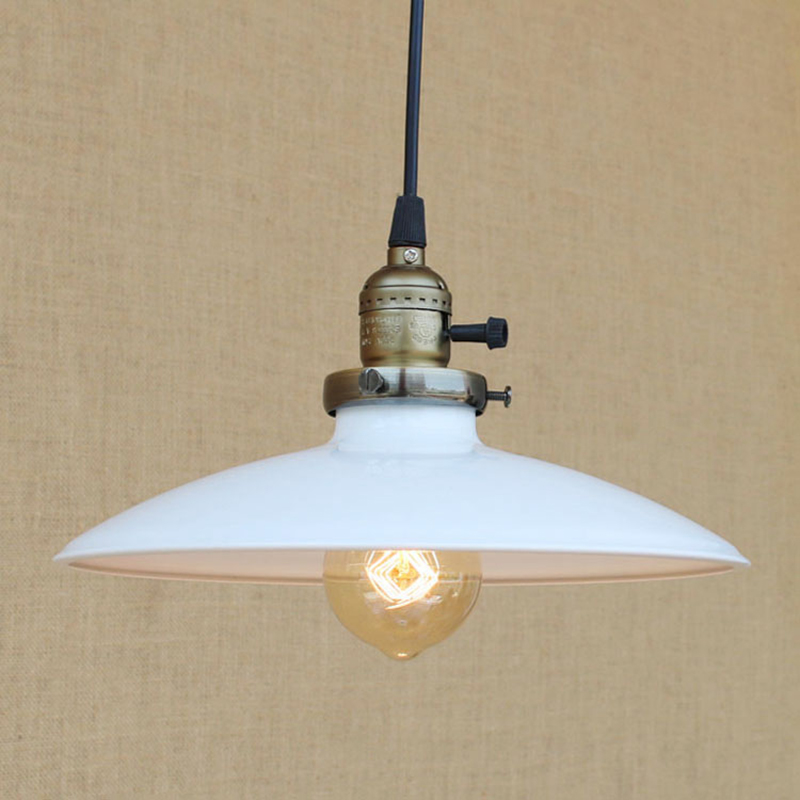 vintage hanging light Modern LED Colorful iron pendant lamp with switch American Loft style bar/restaurant E27 lighting fixture loft style vintage pendant lamp iron industrial retro pendant lamps restaurant bar counter hanging chandeliers cafe room