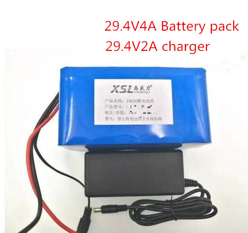 2017 New 7S2P 18650 rechargeable Li-ion battery 29.4 V 4000 MAH moped electric bicycle / electric / lithium ion battery battery 30a 3s polymer lithium battery cell charger protection board pcb 18650 li ion lithium battery charging module 12 8 16v