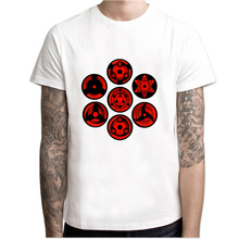 Sharingan Shapes Eyes T-Shirt