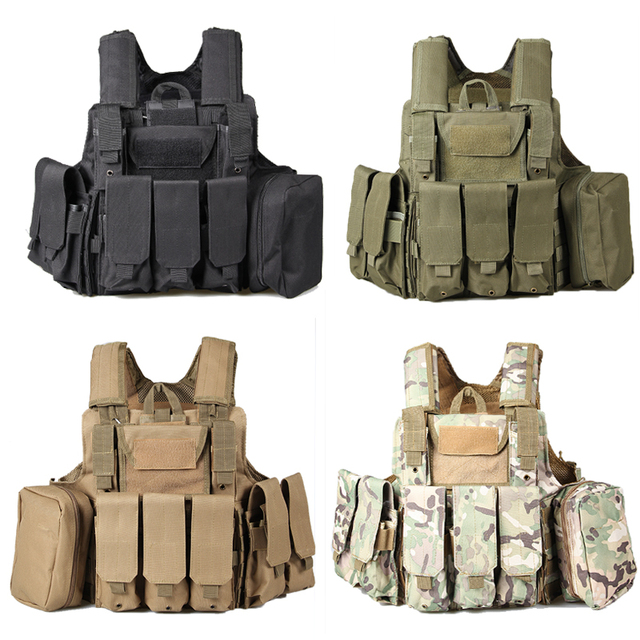 Tactical Vest Field Riding Vest Specialties Tactical Equipment Desert Camouflage Combat Ghost Amphibious Vest