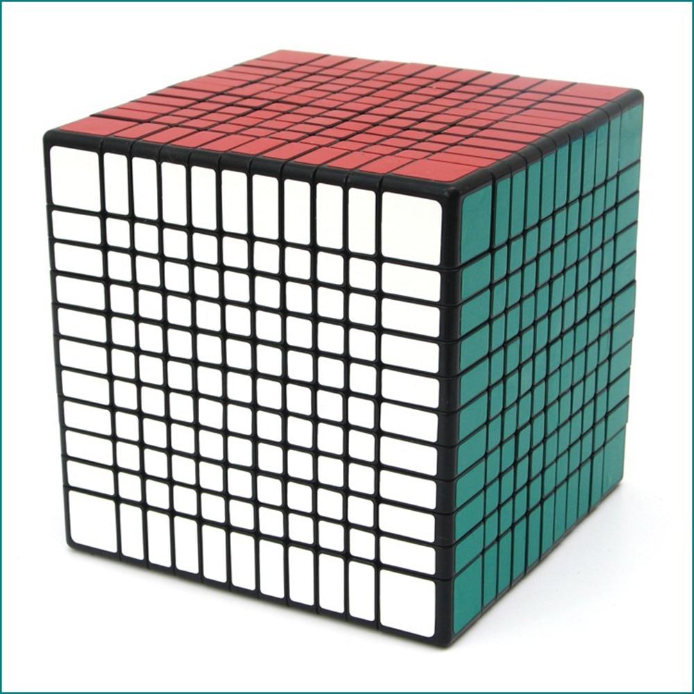 11x11x11 Cube noir compétition Cube magique Puzzle jouets éducatifs pour enfants