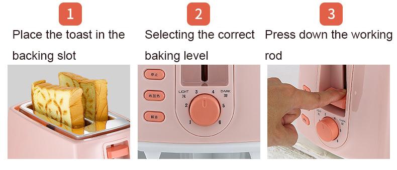Bread Toaster With A Smiley Bread Maker Toaster Feature Instructions