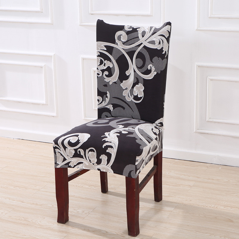 Floral Printing Stretch Elastic Chair Covers  4