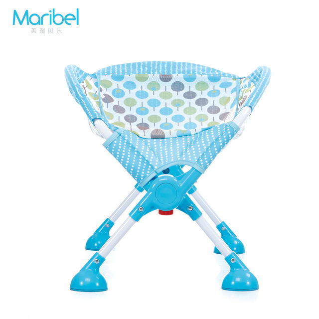 Online Shop Mental Baby Bath Chair Aluminum Alloy High Bath Chair ...