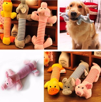 Linen plush Material Tooth Cleaning Chew Treat