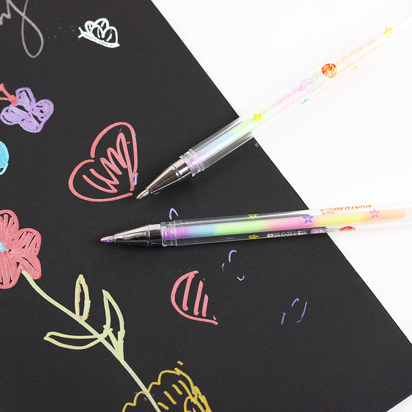 1PC Cute Design Ink 6 Colors Highlighter Pen Marker Stationery Point Pen Colorful Stationery Writing Supplie Girls Painting Pens
