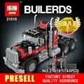 2017 Lepin 21015 Nuevo 1743 Unids El gigante Americano coche contenedor Blcoks construcción Ladrillos Juguetes 5571