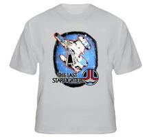 The Last Starfighter SCI FI Classic Movie T Shirt Cartoon Print Short Sleeve Free Shipping on Sale New Fashion Summer