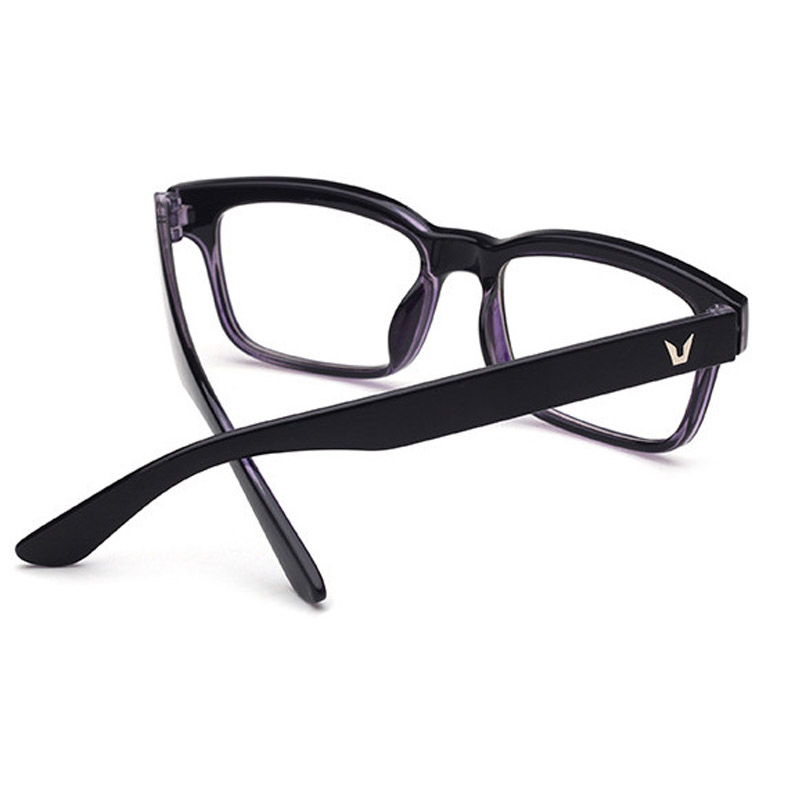 be47afd409f 2018 Hot coated lens Optical Plain Mirror Eyeglasses Frames Men Women  Square Full frame Eye Glasses for Myopia Eyewear Frame-in Eyewear Frames  from Apparel ...